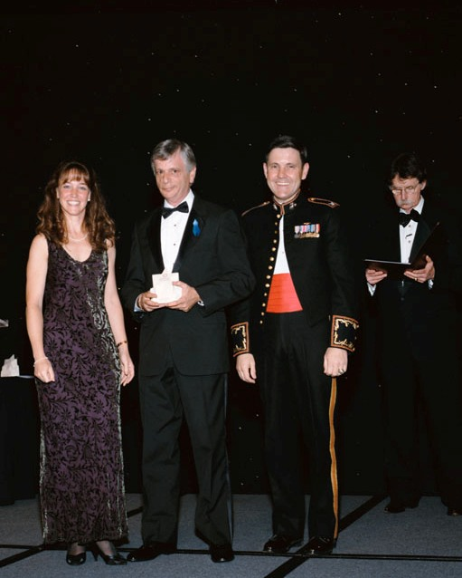 Robert Cabana, Lisa Nowak, Jay Greene, and Red Duke