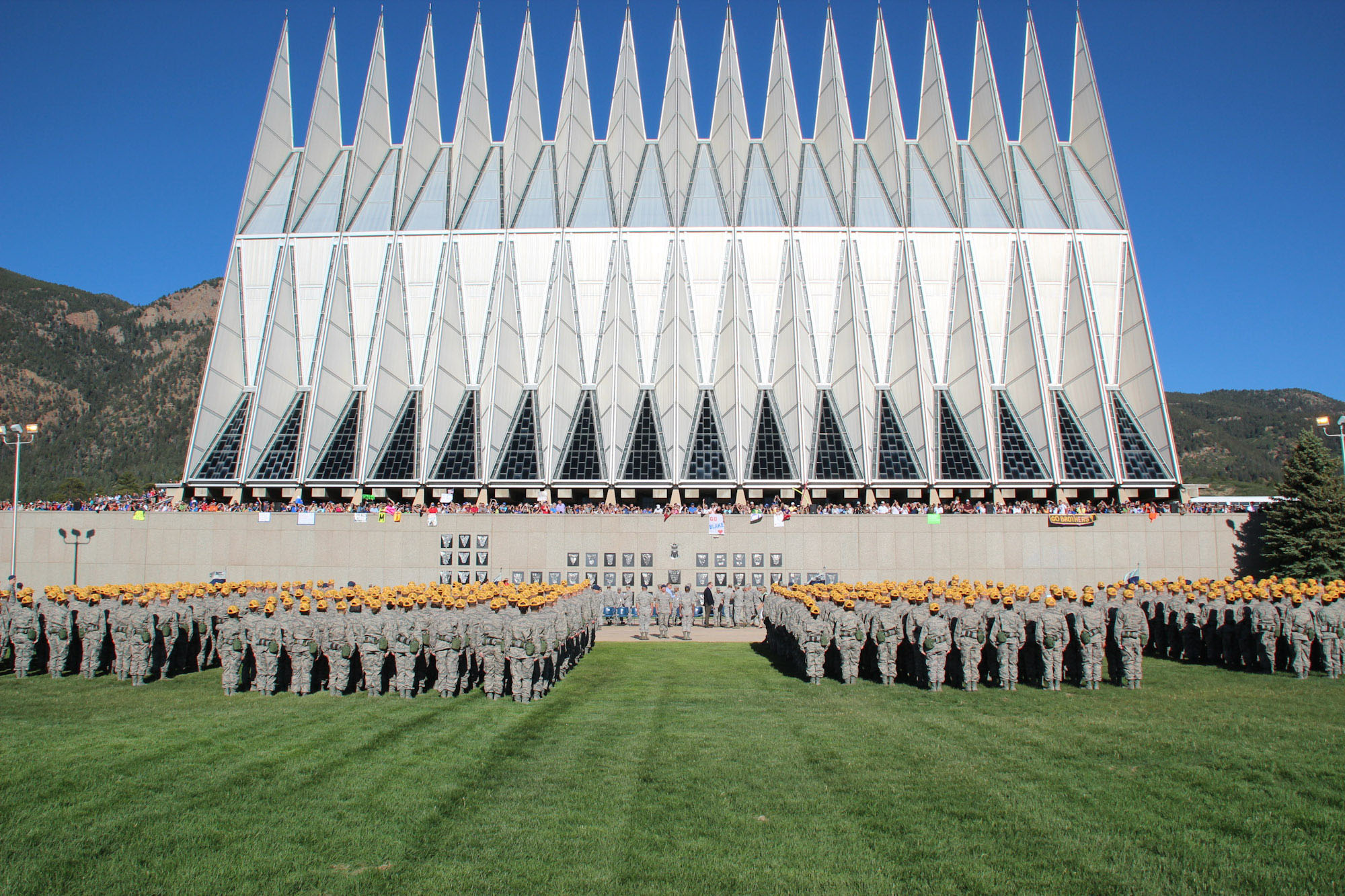 Air Force Academy Class of 2015 cadets
