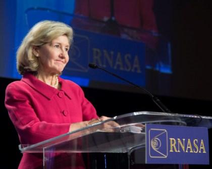 Kay Bailey Hutchison received the NST April 26, 2013